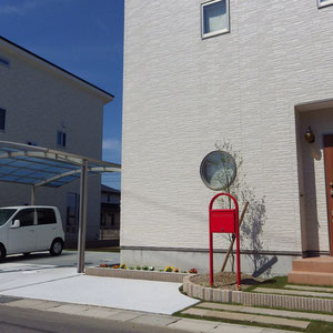 岡山市中区 N様邸 フラワーチルドレン エクステリア