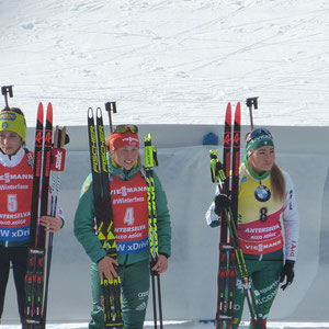 So sehen Sieger aus - Biathlon in Antholz