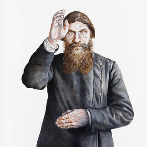 Genia Chef, Rasputin, 180 x 140 cm, oil on canvas