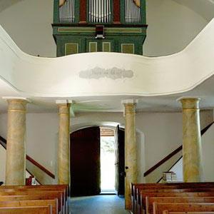 Evang. Kirche Eisentratten-Orgel