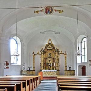 Evang. Kirche Eisentratten-innen