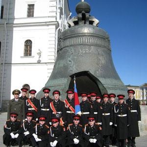 Легендарный Царь-колокол. Московский Кремль.