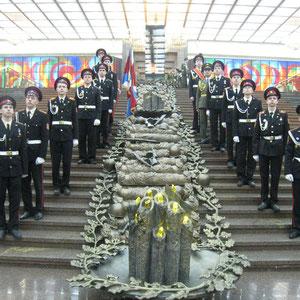 Музей Великой Отечественной войны на Поклонной горе. Зал Полководцев. Город Москва.