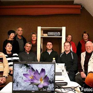 Fotokurs im Frühjahr 2007 im Studio des Fotoclub.