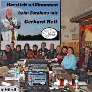 Die Teilnehmer beim Fotokurs im Januar/Februar 2012. - Für den nächsten Kurs gibt es eine Warteliste - Anmeldungen sind über die Kontaktseite möglich.