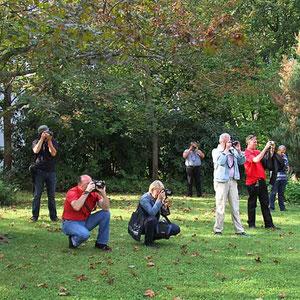Die Teilnehmer beim Fotokurs im September 2011. - Für den nächsten Kurs gibt es eine Warteliste - Anmeldungen sind über die Kontaktseite möglich.