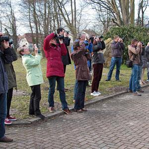 Die Teilnehmer beim Fotokurs im März 2015. - Für den nächsten Kurs gibt es eine Warteliste - Anmeldungen sind über die Kontaktseite möglich.