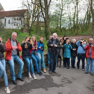 Die Teilnehmer beim Fotokurs im April 2016 - Für den nächsten Kurs gibt es eine Warteliste - Anmeldungen sind über die Kontaktseite möglich.
