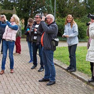 Die Teilnehmer des Fotokurses im März 2014 bei der Foto-Exkursion. - Für den nächsten Kurs gibt es eine Warteliste - Anmeldungen sind über die Kontaktseite möglich.