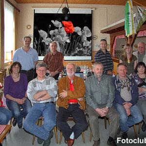 Die Teilnehmer beim Fotokurs im April 2010.