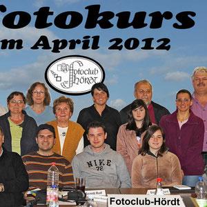 Die Teilnehmer beim Fotokurs im April 2012. - Für den nächsten Kurs gibt es eine Warteliste - Anmeldungen sind über die Kontaktseite möglich.
