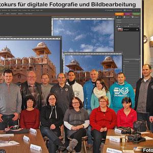 Die Teilnehmer beim Fotokurs im Januar 2013. - Für den nächsten Kurs gibt es eine Warteliste - Anmeldungen sind über die Kontaktseite möglich.