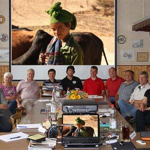 Die Teilnehmer beim Fotokurs im September 2011 - Für den nächsten Kurs gibt es eine Warteliste - Anmeldungen sind über die Kontaktseite möglich.