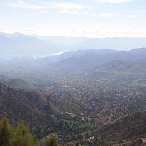 De vallei van het Paradijs