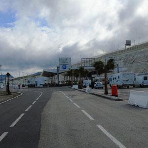 de douanie in Tanger Med