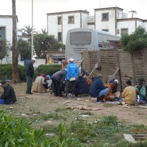 De bridgeclub van Essaouira