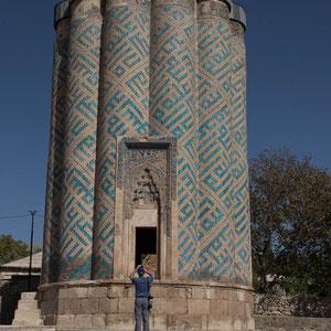 Azerbaijan / Aserbaidschan - Cehan Kudi Xatun - Mausoleum in Karabaglar - Autonomen Republik Nakhchivan