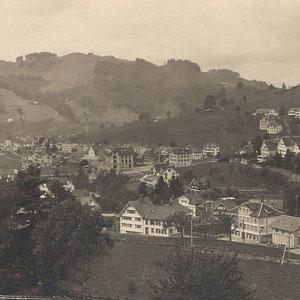GAIS - Dorfbild um 1918