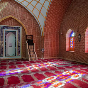 Azerbaijan / Aserbaidschan - Moschee in der Hauptstadt - Autonomen Republik Nakhchivan