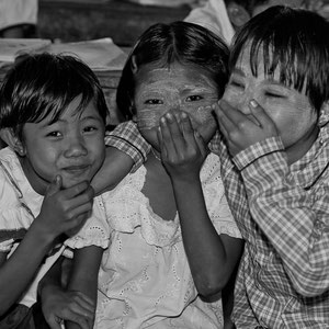 Myanmar people - Schulkinder
