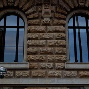 Hamburg - Details am Hamburger Rathaus