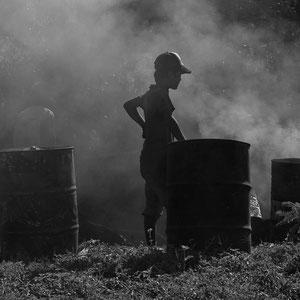 Myanmar people - Kinder im Strassenbau