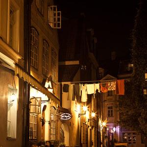 Lettland - Eindrücke aus Riga - Nachtspaziergang