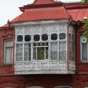 Azerbaijan - Häuser in Quba