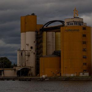 Polen - Gdansker Hafenareal