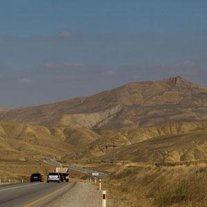 Azerbaijan - Unterwegs von Lahij nach Baku