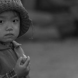 Myanmar people - Kind vom Norden von Myanmar - Putao