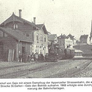 GAIS - Bahnhof