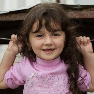 Azerbaijan - Mädchen in Quba