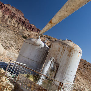 Azerbaijan / Aserbaidschan - arsenhaltiges Wasser in der autonomen Republik Nakhchivan