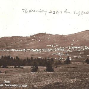 GAIS - Dorfbild vom Hirschberg