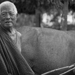 Myanmar people - alter Bauer