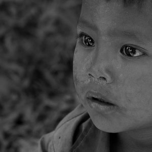 Myanmar people - kleiner Junge