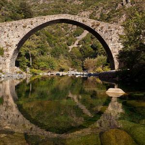Ponte Vecchiu - zwischen Ota und Evisa