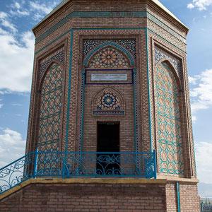Azerbaijan / Aserbaidschan - Noah's Grab in der Hauptstadt der autonomen Republik Nakhchivan