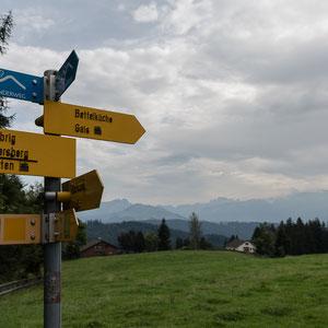 Gais - Auf dem Laura-Weg