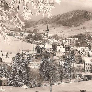 GAIS - Dorfbild im Winter