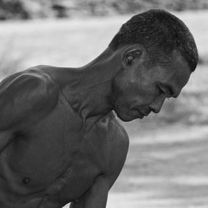 Myanmar people - arbeitender Mann