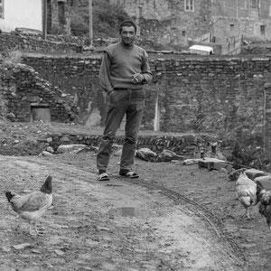 Azerbaijan - Freundlicher Einwohner in Xinaliq