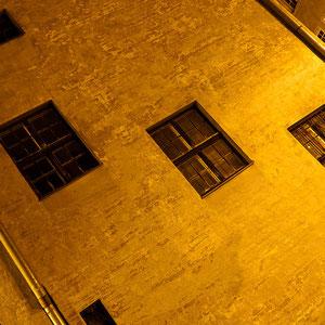 """Lettland - Eindrücke aus Riga - Nachtspaziergang (Detailaufnahme """"Drei Brüder"""")"""