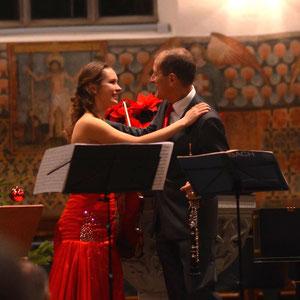 Neujahrkonzert in der ref. Kirche Küsnacht mit Matthias Arter (Oboe); Konzert für Violine und Oboe von J.S.Bach