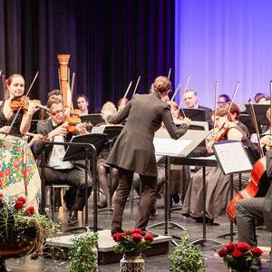 Podium Düdingen. Solo - Zigeunerweisen, Dirigentin - Olivera Sekulic