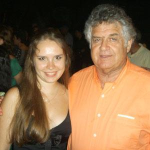 With Prof. Schmuel Aschkenazi 2009 (Israel)