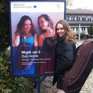 Konzert mit Duo Alronk