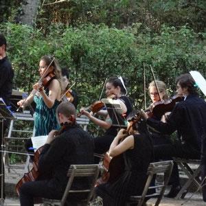 Konzert für 2 Violinen von J.S.Bach mit Prof. Rudolf Koelman, Italien 2012