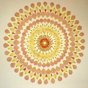 Brautstrauss trocknen - Duftrosen Lysanthium 60 x 60